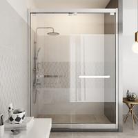 HOROW 希箭 一字型淋浴房1.6m-1.69m宽(双门滑动)