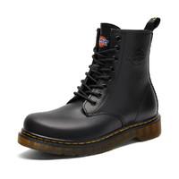 冬季男鞋马丁靴男2020新款鞋子男英伦高帮军靴休闲鞋男