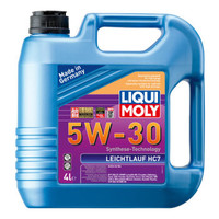 LIQUI MOLY 力魔 雷神 HC7 全合成机油 5W-30 SN/CF级 4L