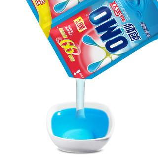 OMO 奥妙 净蓝全效系列 深层洁净洗衣液 500g*3袋 洁净清新