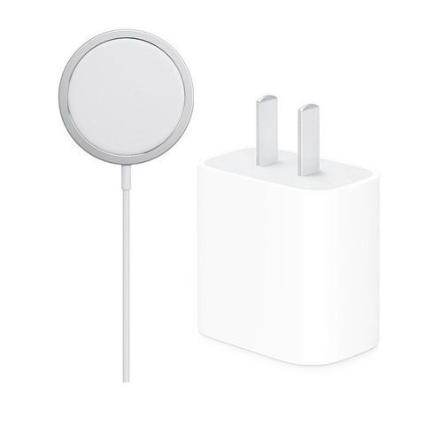 百亿补贴:Apple 苹果 MagSafe 磁吸式无线充电器 套装