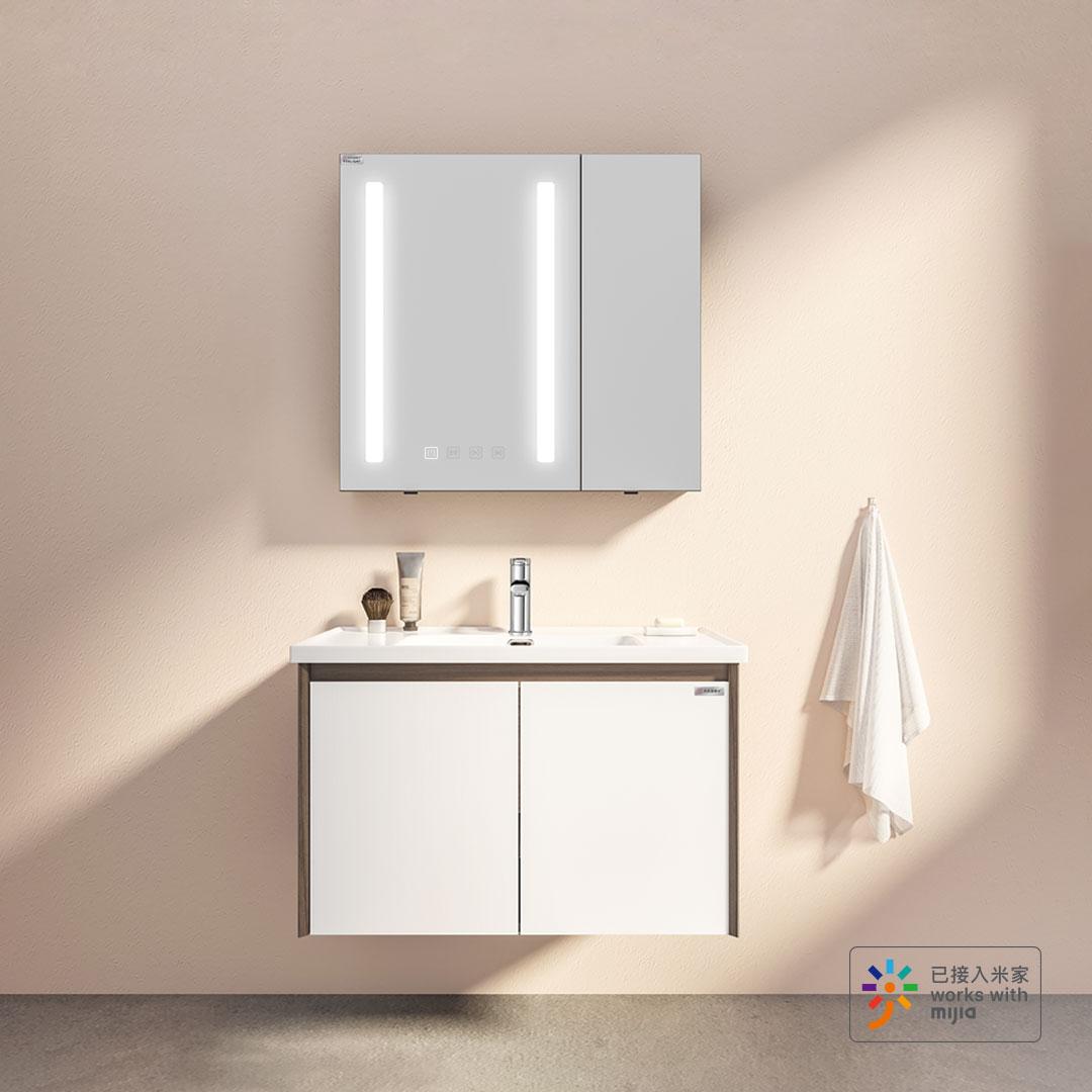 12.12预售 : 大白&Yeeligh美妆镜柜 500mm 非智能镜柜