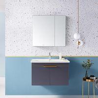 预售:HUIDA 惠达 1381-80 实木轻奢浴室柜组合套装