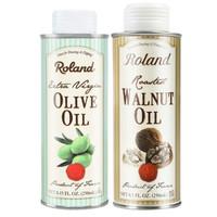roland 罗朗德 婴儿DHA初榨核桃油250ml+橄榄油250ml