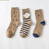 Caramella 男士运动长袜 3双装