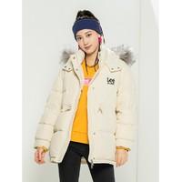 Lee L433157KH 女士连帽长款羽绒服