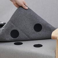 桑晒 沙发固定器 黑色圆形 20对装