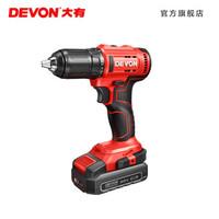 DEVON  大有 5298 20V锂电无刷电钻 单点标配