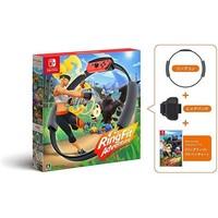 Nintendo 任天堂 NS游戏套装《健身环大冒险》海外版