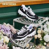 SKECHERS 斯凱奇 D'LITES 女士休閑運動鞋 13144 黑色/淺粉色