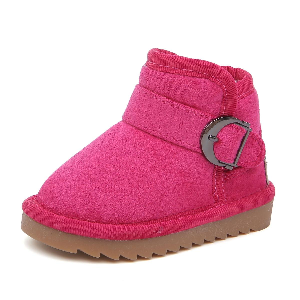Babaya 芭芭鸭 儿童雪地靴