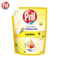京东PLUS会员:Pril 玉莹 食用级小苏打洗洁精 柠檬果香 1L补充装 *7件