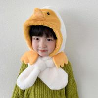 移动专享:KIDNOAM 儿童一体企鹅帽子围巾