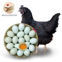 限地区:金真安 农家乌鸡蛋 20枚