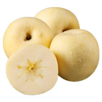 鲜东方 烟台奶油金富士苹果 净重4.8-5斤 80mm含以上