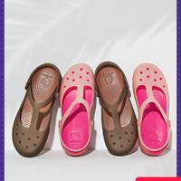 Crocs凉鞋女夏季包头洞洞鞋卡骆驰轻便厚底涉水沙滩鞋|11209
