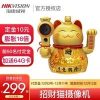 海康威视无线监控摄像头200万DS-IPC-E52H-IWT 2.8mm