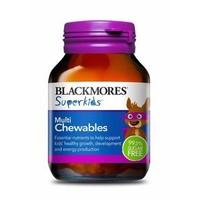 Blackmores SuperKids 儿童多元复合维生素咀嚼片 60片
