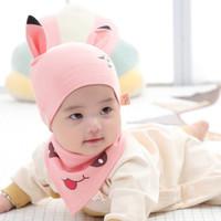 移动专享:KAKABAIFENBAI 卡卡百分百 婴儿套头帽