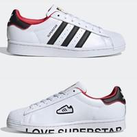 adidas 阿迪达斯 SUPERSTAR 男女经典运动鞋