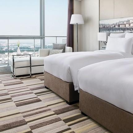 周末不加价!厦门朗豪酒店1晚含双早+双人下午茶