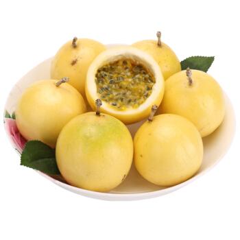 芬果时光 黄金百香果 单果约60-70g 3斤装
