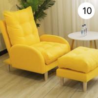 将勋 单人沙发懒人午睡小沙发 单人椅+脚踏
