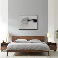12.12预售:网易严选 林音系列 白橡木实木床 1.5m( 升级款)