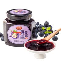 福事多蓝莓茶240g国货原装自制果味茶酱冲饮品 *16件