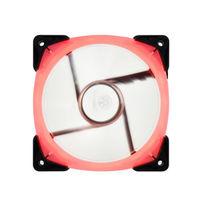 银欣(SilverStone) PWM RGB机箱风扇 均光材质 长寿命双滚珠轴承18颗LED灯粒 12cm 單包裝(FW123-RGB)