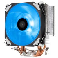 银欣(SilverStone)冷锋400 CPU散热器(直触热管/PWM红色LED风扇/RGB) 冷锋400-RGB