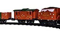 Lionel Northern Star,微型电池驱动模型火车套装,带轨道,多色