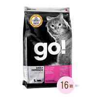Go! 猫粮 生命防护系列 鸡肉全猫粮 16磅