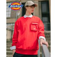 京东PLUS会员:Dickies 帝客 DK007565 可脱卸口袋情侣卫衣 *3件