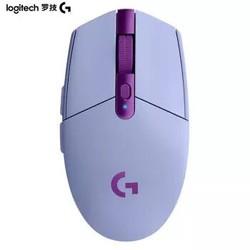 Logitech 罗技 G304 LIGHTSPEED无线鼠标 淡紫色