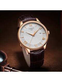 TISSOT 天梭 T063.610.36.038.00  俊雅系列 男士手表