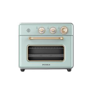 柏翠(petrus)空气炸锅 烤箱一体机20L小型家用 搪瓷内胆  热风多功能烘焙 PE7920