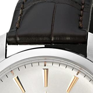 ZENITH 真力时 指挥官系列 03.2020.670/01.C498 男士机械手表 40mm 银盘 黑色鳄鱼皮带 圆形