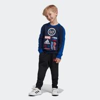 adidas 阿迪达斯 儿童训练运动长袖圆领套头卫衣