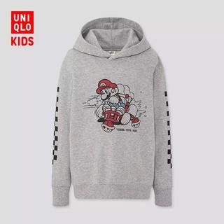优衣库 童装 (UT) Mario连帽运动衫(长袖 卫衣)(套头) 425182