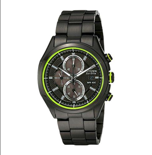CITIZEN 西铁城 光动能腕表系列 CA0435-51E 男士光动能手表 39mm 黑盘 PVD镀黑不锈钢带 圆形