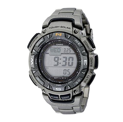 CASIO 卡西欧 PAG240T-7CR 男士太阳能手表