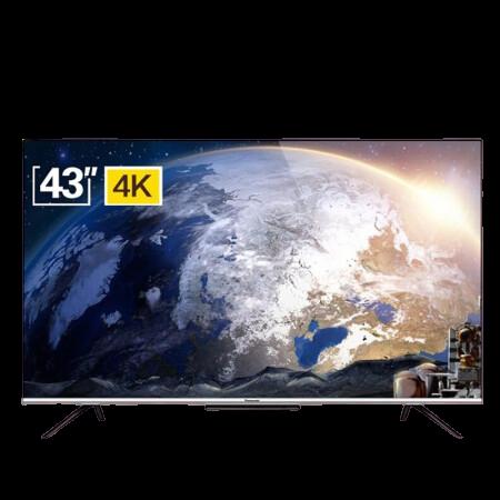 Panasonic 松下 HX580系列 TH-43HX580C 43英寸 4K超高清全面屏智能电视