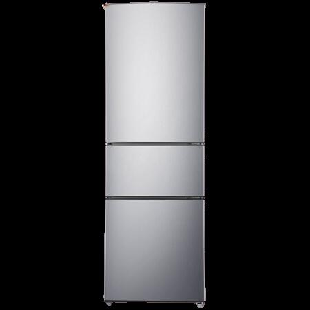 Ronshen 容声 冰箱205升三门三温区中门软冷冻低燥节能省电家用小型不占地 BCD-205D11N