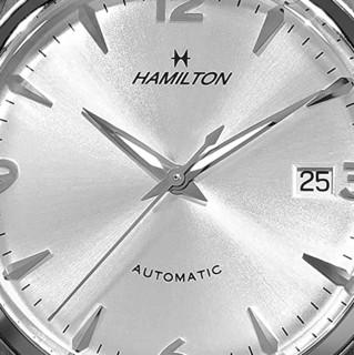 HAMILTON 汉米尔顿 Timeless Classic永恒经典系列 H38715281 男士机械手表 41mm 银盘 银色不锈钢带 圆形