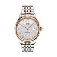 历史低价 : TISSOT T006.407.22.033.00 力洛克系列 钢带机械男士手表