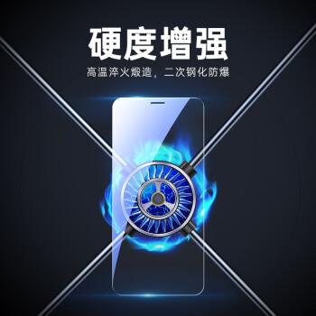 亿色(ESR) 苹果12/12Pro钢化膜 iphone12/12Pro手机钢化膜 高清全屏全覆盖防爆防指纹玻璃贴膜前膜-送贴膜器 *2件