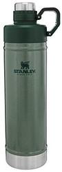 Stanley 史丹利 经典易清洁水瓶 带*丢失铰链防漏盖 不锈钢保温瓶 适用于冷饮 广口保温