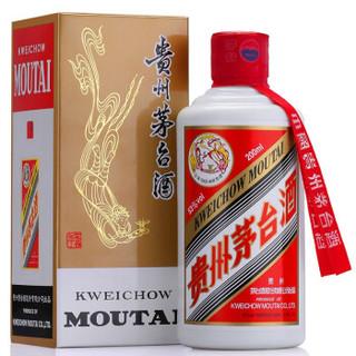 茅台(MOUTAI)贵州茅台酒茅台飞天  酱香型白酒 53度200ml 1瓶装