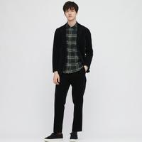 UNIQLO 优衣库 431487 男装法兰绒格子衬衫